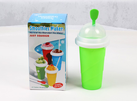 SW-SC-04 summer hot slush magic frozen squeeze ice cup