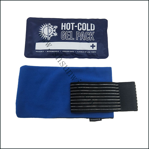 Physical therapy cold and hot compress pack with cover