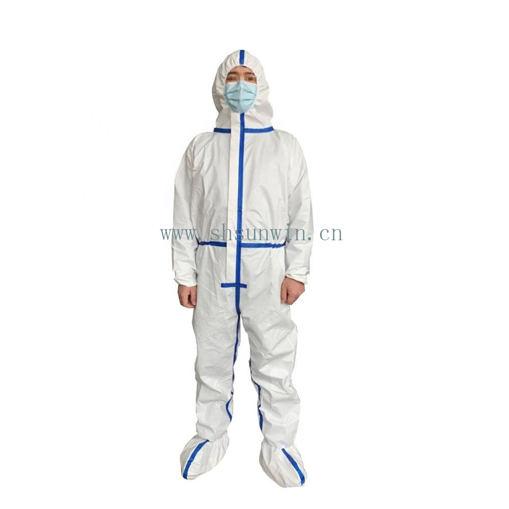 Coverall medical protective clothing protection suit