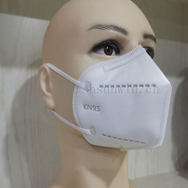 Fast Delivery Wholesale CE FPP2 FDA KN95 Protective 4 ply face mask kn95 earloop In Stock